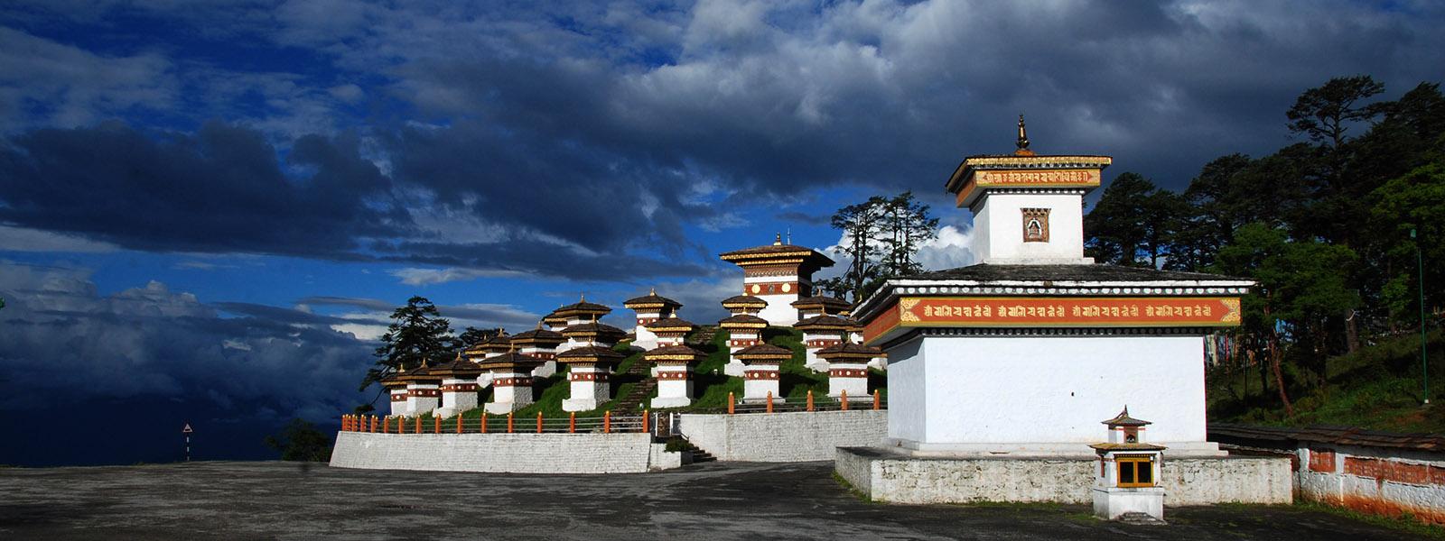 101 Stupas at Dochula Thimphu