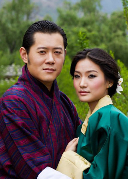 King of Bhutan Wedding with Ashi Jetsun Pema - Little Bhutan
