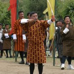 Bhutanese traditional dress Gho