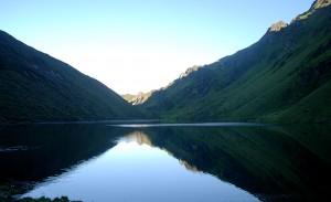 Bhutan Mountain Lake
