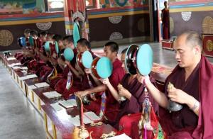 Buddhist Monks from Bhutan