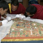Thangkhas in Bhutan's monasteries restored