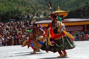 Tsechu Festival Dance