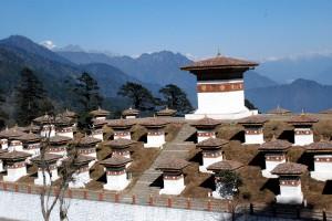 Dochula in Thimphu