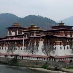 Punakha Dzong Fortress in Bhutan