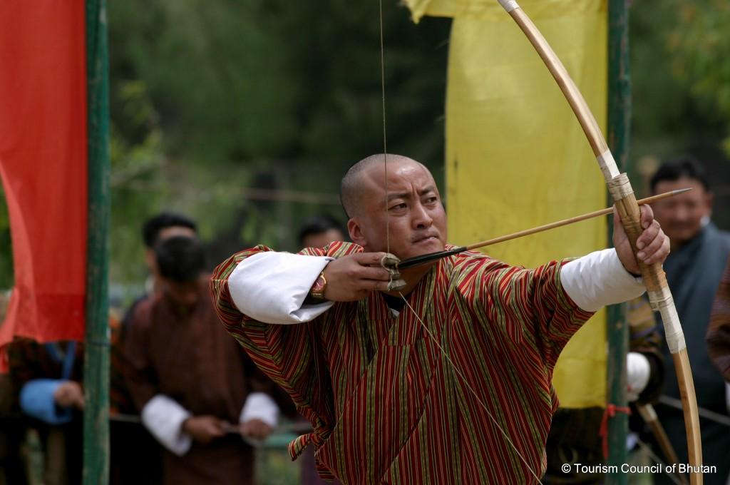Bhutan Sports Archery