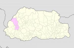 Paro Location Map