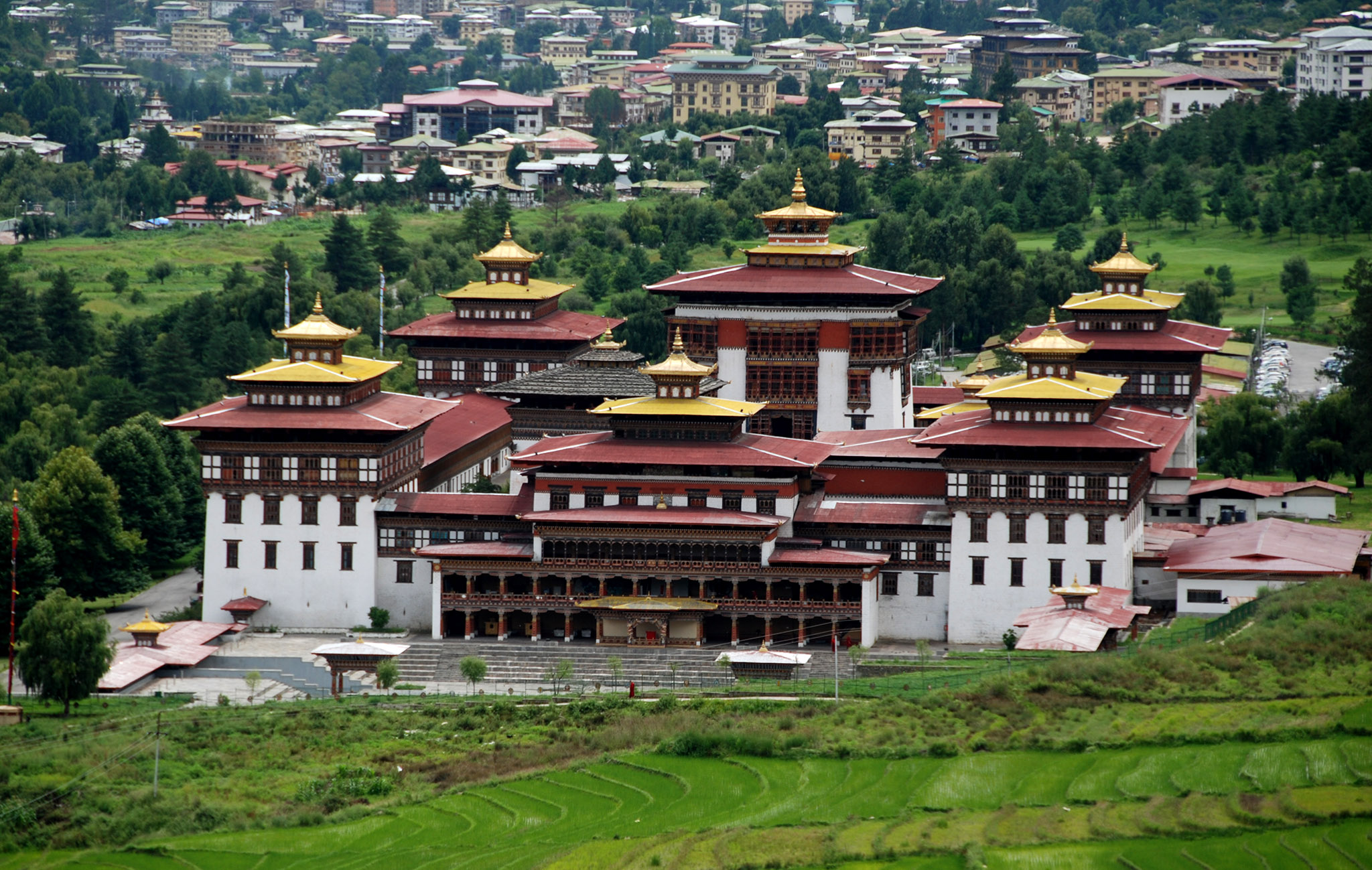 Image result for tashichho dzong