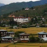 Paro Valley and Dzong