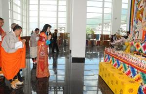 Royal Textile Academy inauguration Bhutan