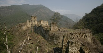 Zhongar Dzong now in Ruins