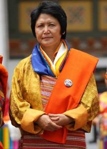 Aum Dorji Choden Bhutans first female Minister