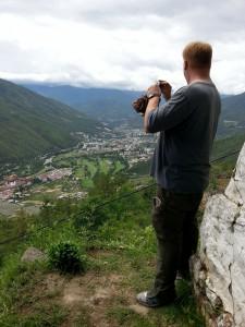 Dan Albrecht in Bhutan