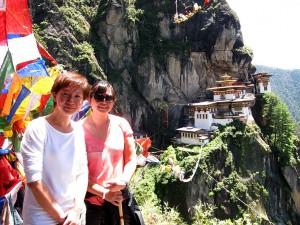 Lee Ling & Lay Peng at Taktsang Bhutan