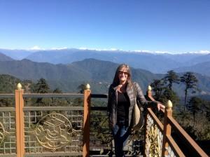 Liz McGuire in Bhutan