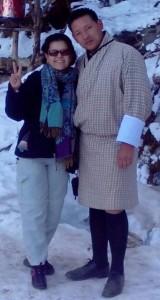 Lucia Santos in Bhutan