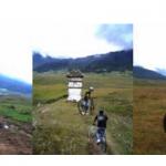 Biking in Phobjikha