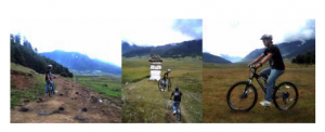 Biking in Phobjikha