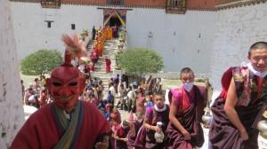 At Atsara, a Bhutanese Jester