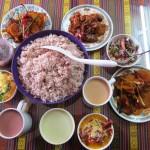 food, Bhutan, Red Rice, Sikam, Ema Datshi