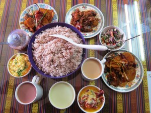 food, Bhutan, Red Rice, Sikam, Ema Datshi