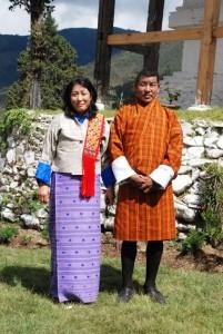 The National dress of Bhutan