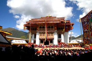 The Gangtey Gompa Monastery