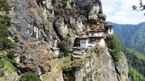 The Tiger's Nest Monastery, Paro, Bhutan