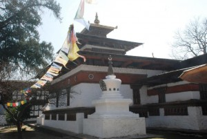 The temple of Kyichu is believed to have been built by King Songtsen Gampo of Tibet