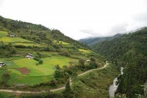 Almost all the remote villages in Bhutan are connected by road