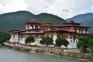 Pungthang Dewachen Phodrang (Palace of Great Happiness) or Punakha Dzong
