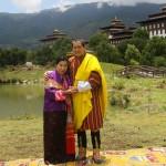 HM the Royal Grandmother Kesang Choeden Wangchuck & HM The 4th King Jigme Singye Wangchuck