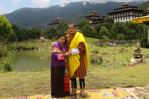 HM the Royal Grandmother Kesang Choeden Wangchuck & HM The 4th King Jigme Singye Wangchuck