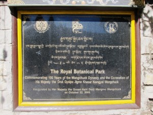 The Royal Botanical Park, Lamperi, Bhutan