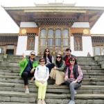 Julia & Friends at Druk Wangyel Lhakhang, Dochula