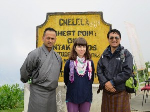 Sonia Fernandes during her trip with Little Bhutan