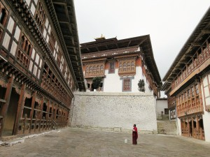 Inside the Trongsa Dzong