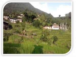 Ketokha village in Chukha