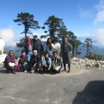 Mr. Chin Pei Lee & Friends at Dochula Pass, Little Bhutan