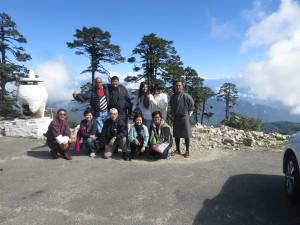 Mr. Chin Pei Lee & Friends at Dochula Pass, Little Bhutan