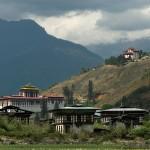 A view of Paro Dzong