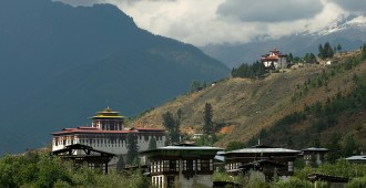 A view of Paro Dzong