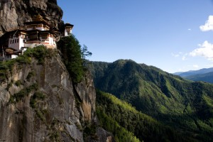 After a 10km drive from Paro is the famous Tiger's Nest Hermitage on the face of a sheer 3,120m-tall cliff. The Tiger's Nest or Taktsang Monastery is without doubt the most visited and the most photographed of all the monuments in Bhutan.