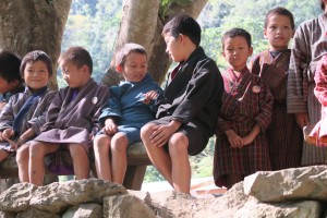 52% of the Bhutanese population is either in their early twenties or younger.
