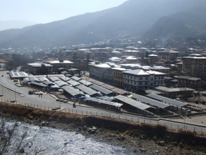 Thimphu City spreads over 26.13 sq.km, and there are 7,000 buildings already completed. The number of applications for new constructions is increasing every year and the construction boom is evident all around the capital.