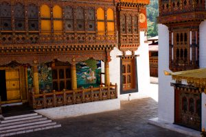 Courtyard of Thimphu Dzong